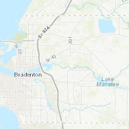 Manatee County Florida Roads 2014 Digital Maps And Geospatial