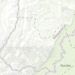 Buhinyuza region, Burundi, 1994, Defense Mapping Agency (DMA) Series on