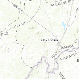 Rio Bravo Mapa Fisico.Mapa Topografico Da Lastro Terreno Relevo Fisico Mapa