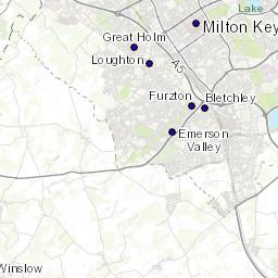 Map Of England Milton.Mountains Near Milton Keynes England Mountain Guide Uk Hills