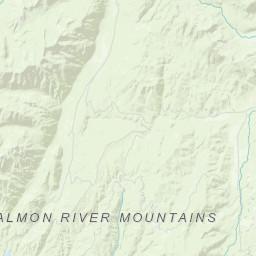 Deadwood Reservoir | Idaho Planner on deadwood lake idaho map, western idaho road map, kooskia id map,