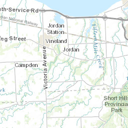 Ontario Topographic Map.Topographic Maps Of Niagara