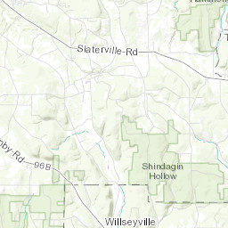Ithaca Trails - Interactive Map