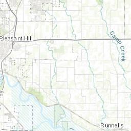 Polk City Iowa Map.Bodies Of Water In Polk County