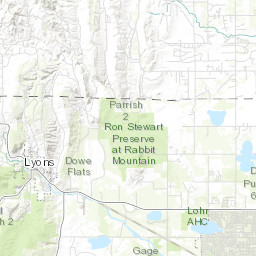 Distribution Systems Service Map City of Longmont Colorado