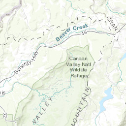 Refuge Map - Canaan Valley - U.S. Fish and Wildlife Service on blacks run virginia map, valley west virginia state map, canaan valley state park map, seneca creek geologic map, 495 potomac river map, valley of s in west virginia map, canaan valley directions, canaan valley trail map, canaan valley attractions, blackwater va map, old timberline wv map, west coast of california map, canaan valley resort wv, shenandoah valley west virginia map, blackwater falls state map, canaan mountain ski map, canaan valley national wildlife refuge map, blackwater state park map, shenandoah mountains map,