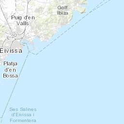 ibiza gay bars map