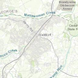 Prince William County Zip Code Map.Interactive Map Zip Code Demographics