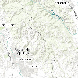 Napa County Fire Incident Map
