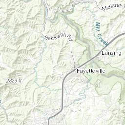 GIS | Oak Hill West Virginia