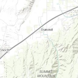 Geologic map of the Cedar City quadrangle, Iron County, Utah on