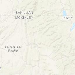 Apache County Arizona Map.Geologic Map Of The Fort Defiance Quadrangle Apache County Arizona
