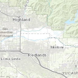 Redlands Zip Code Map.Local Business Search City Of Redlands