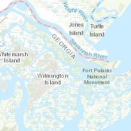 Refuge Map Savannah US Fish and Wildlife Service