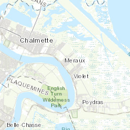NOPD Districts City of New Orleans
