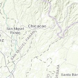 Rio Bravo Mapa Fisico.Mapa Topografico Da Rio Bravo Terreno Relevo Fisico Mapa