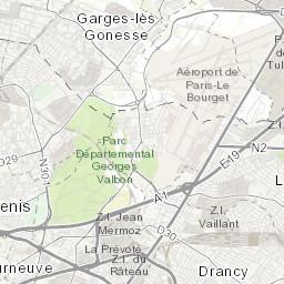Hauts-de-seine 1910 Map Excellent Quality AsniÈres Rueil-malmaison Nanterre Neuilly Courbevoie Antiques