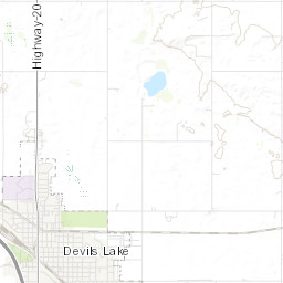 3G / 4G / 5G coverage in Devils Lake - nPerf Devils Lake Nd Map on