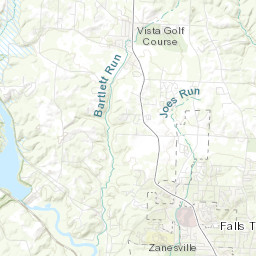 Floods at Zanesville, Ohio on