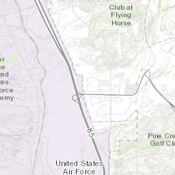 Colorado Springs Landslide Susceptibility