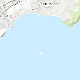 Map Of Spain Benidorm.Benidorm Gay Map 2019 Gay Bars Gay Clubs Gay Saunas Hotels