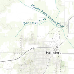 Harrisburg Illinois Map.Illinois Floodplain Maps Firms