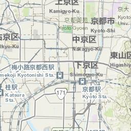 Tourist map of Kyoto Nara Osaka Kobe Digital Maps and Geospatial