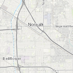 Water Service Area Map | Whittier, CA