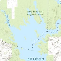 lake pleasant depth map Lake Pleasant Water Levels lake pleasant depth map