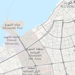 Air Pollution in Kuwait: Real-time Air Quality Index Visual Map