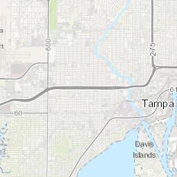 Verizon Wireless 3G / 4G / 5G coverage in Tampa, United