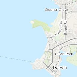 Map Darwin Australia.3g 4g 5g Coverage In Darwin Nperf Com
