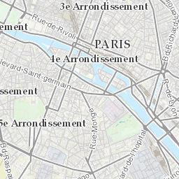Karte Paris Arrondissement.Paris France