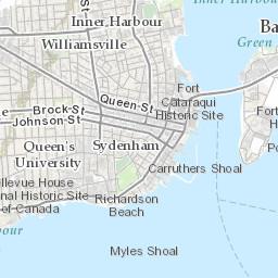 Canada Map Kingston Parks, Trails & Sportsfields   City of Kingston