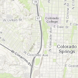 Colorado Springs Traffic Cone Zones