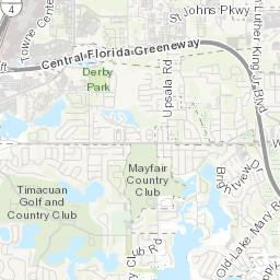 Map Of Sanford Florida.Parks Sanford Fl