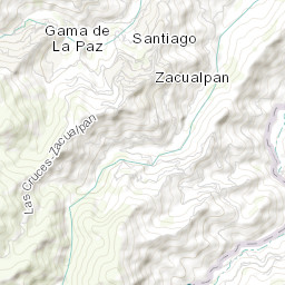 Mapa de ZACUALPAN (Zacualpan, México)