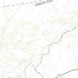 Rio Bravo Mapa Fisico.Mapa Topografico Da Umarizal Terreno Relevo Fisico Mapa