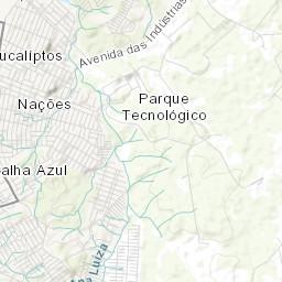 Rio Grande Mapa Fisico.Mapa Topografico Da Fazenda Rio Grande Terreno Relevo