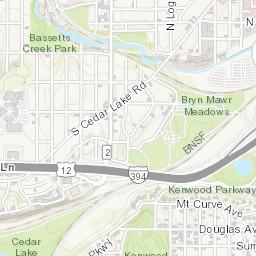 Parking Facilities Map City of Minneapolis