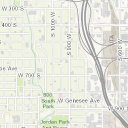 Salt Lake City Time Zone Map.Salt Lake City Maps Active Projects