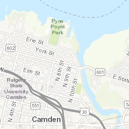 Map Homicides in Camden Philly