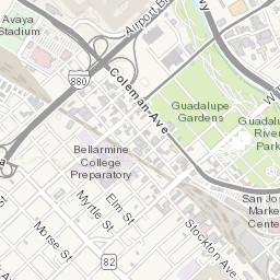 Development Map of Downtown San Jose Downtown San Jose