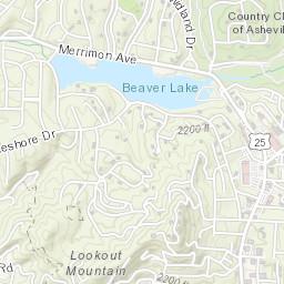 Asheville Elevation Map.National Weather Service Advanced Hydrologic Prediction Service
