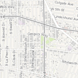 Interactive Parking Meters Map of Beverly Hills