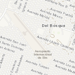Rio Colorado Mapa Fisico.Mapa Topografico Da San Luis Rio Colorado Airport Terreno