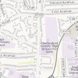 Map of all our car parks Chelmsford City Council