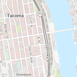City of Tacoma Zoning Map