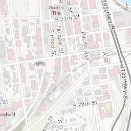 City of Tacoma Zoning Map