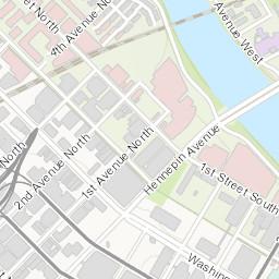 Minneapolis Parking Meter Map on